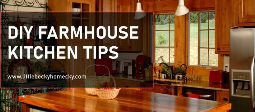 Ways to Farmhouse up your Kitchen